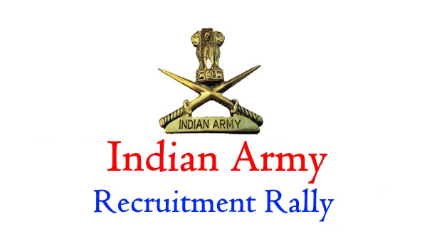 Indian Army Recruitment, Open Bharti Rally