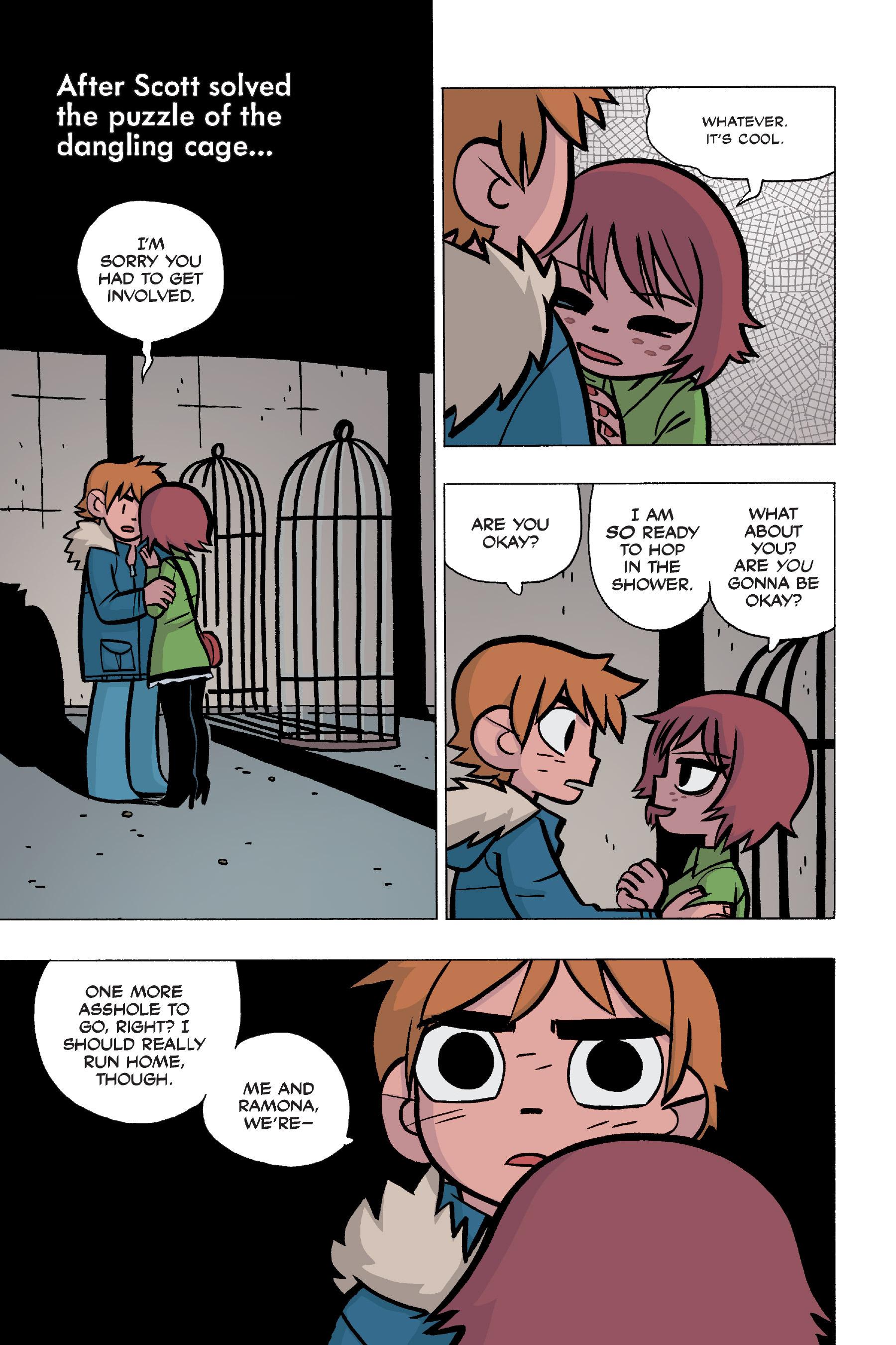Read online Scott Pilgrim comic -  Issue #5 - 133
