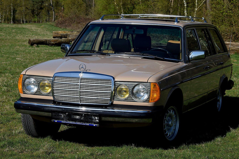 Mercedes-Benz 300 Turbo Diesel Stationwagon (W123) 1983