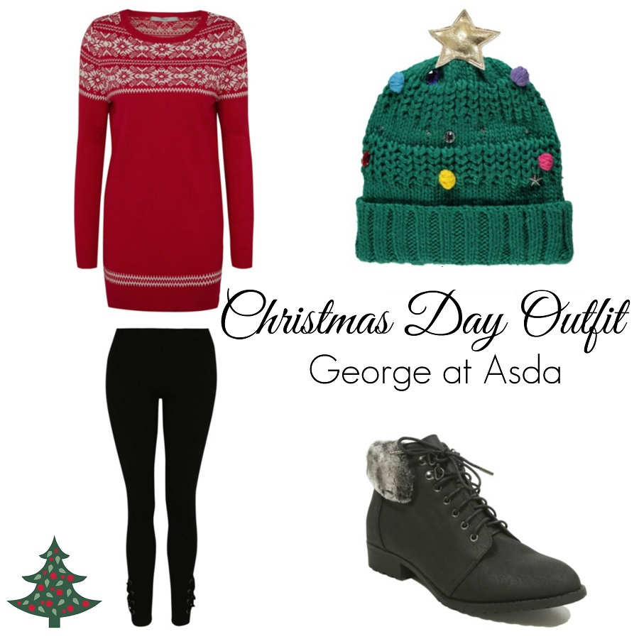 What to wear at Christmas, George at Asda, Budget Christmas Style, The Style Guide Blog
