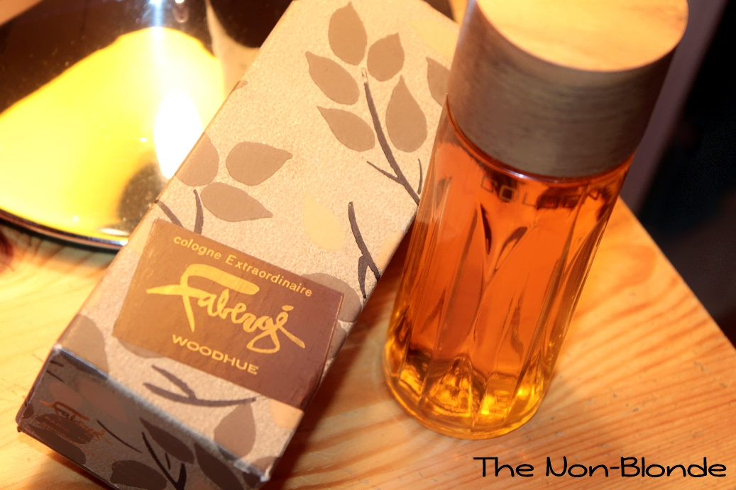 Faberge Woodhue Vintage Perfume The Non Blonde