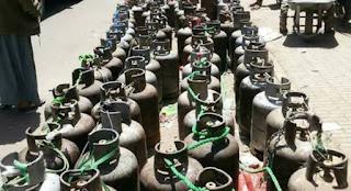 اختفاء الغاز المنزلي من محافظة إب
