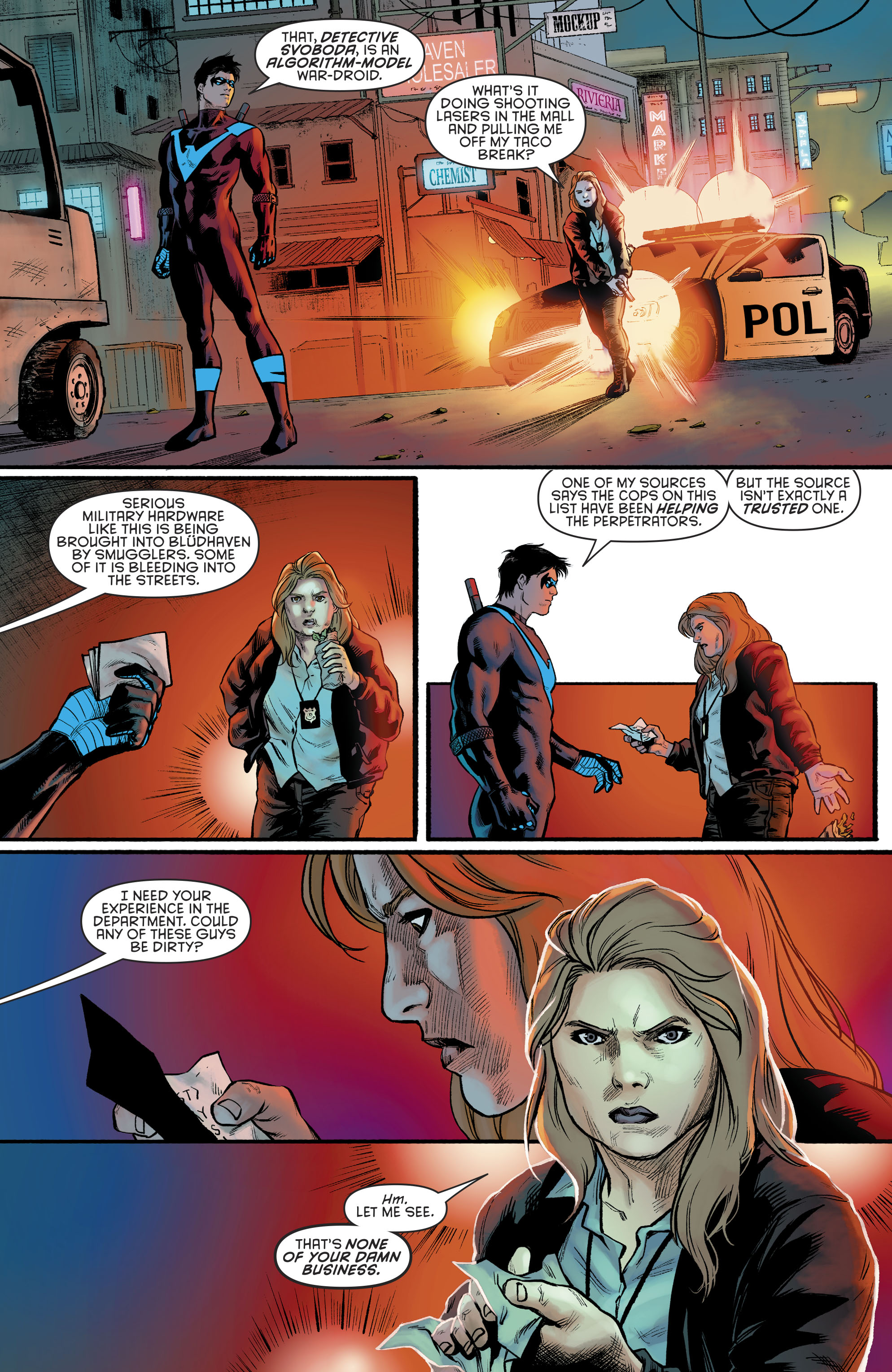 Read online Nightwing (2016) comic -  Issue #23 - 13