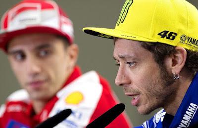 Rossi: Ducatilah Penyebab Semua Kekacauan di GP Argentina