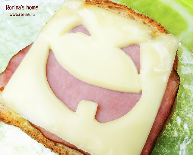 Бутерброды на Хэллоиун