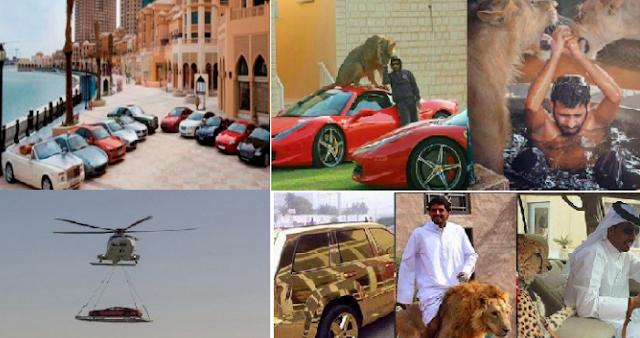 صور للثراء لن تراها إلا في الامارات مشاهد تعكس مدى الثراء الفاحش أثرياء الخليج