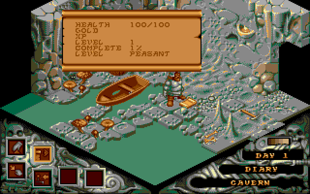 Super Adventures in Gaming: Cadaver (Amiga)