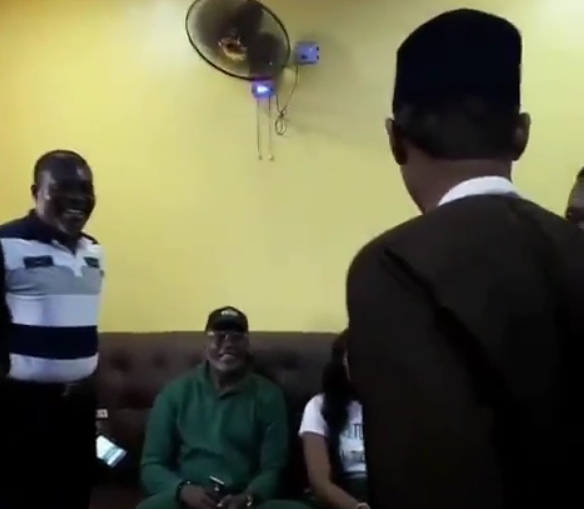 buhari impersonator comedian