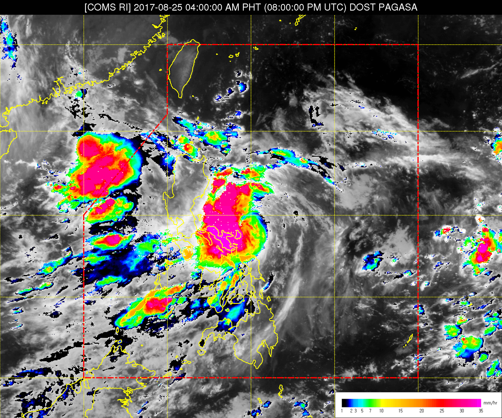 'Bagyong Jolina' makes landfall over Aurora, Signal No. 2 up in 11 areas