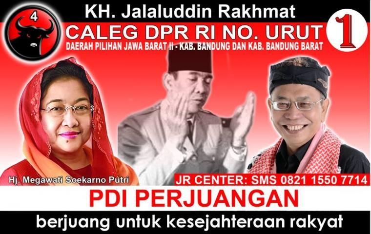 Tokoh Syiah Jalaludin Rahmat Gagal Jadi Anggota DPR