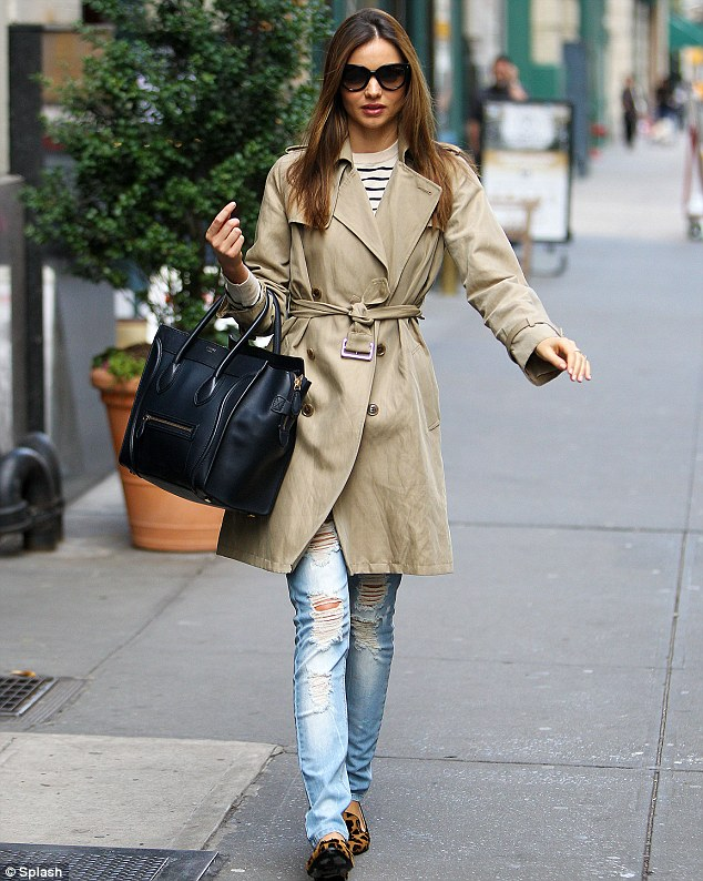 Bagfetishperson Miranda Kerr And Celine Mini Luggage