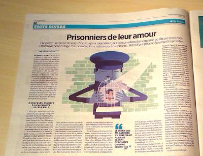 Clod illustrateur illustration Le Parisien du 7 novembre 2016