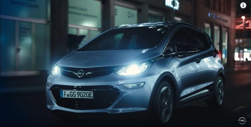 Canzone Nuova Opel  pubblicità elettrica - Musica spot Novembre 2016