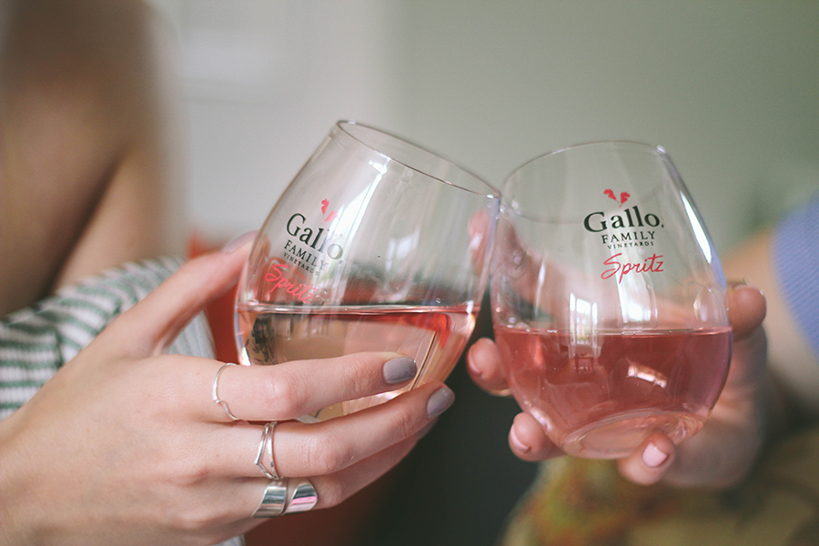 A blog post featuring the launch of Gallo Spritz and Becoming the new memoir by Laura Jane Williams
