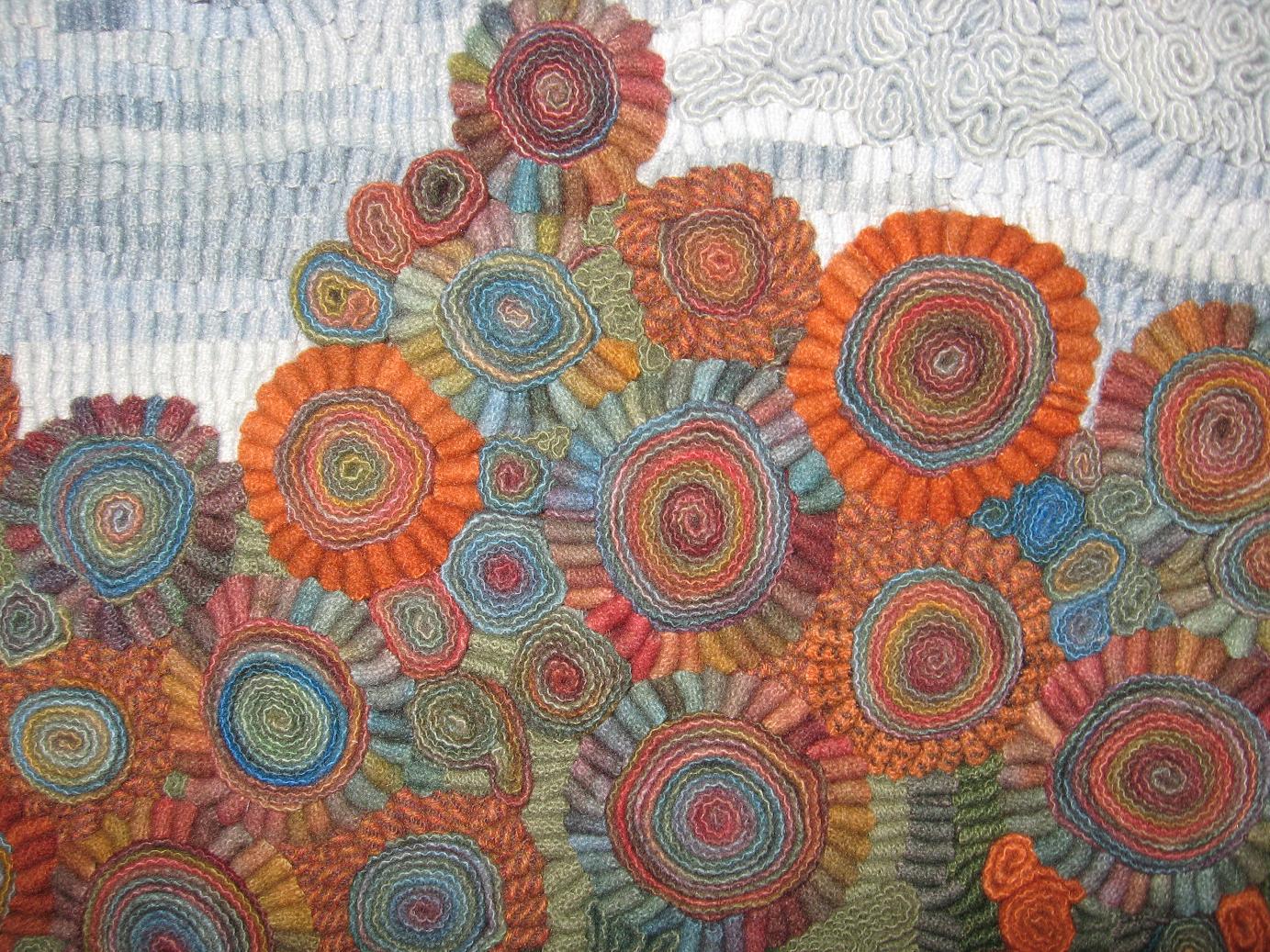 borders on hooking rug rugs hooked