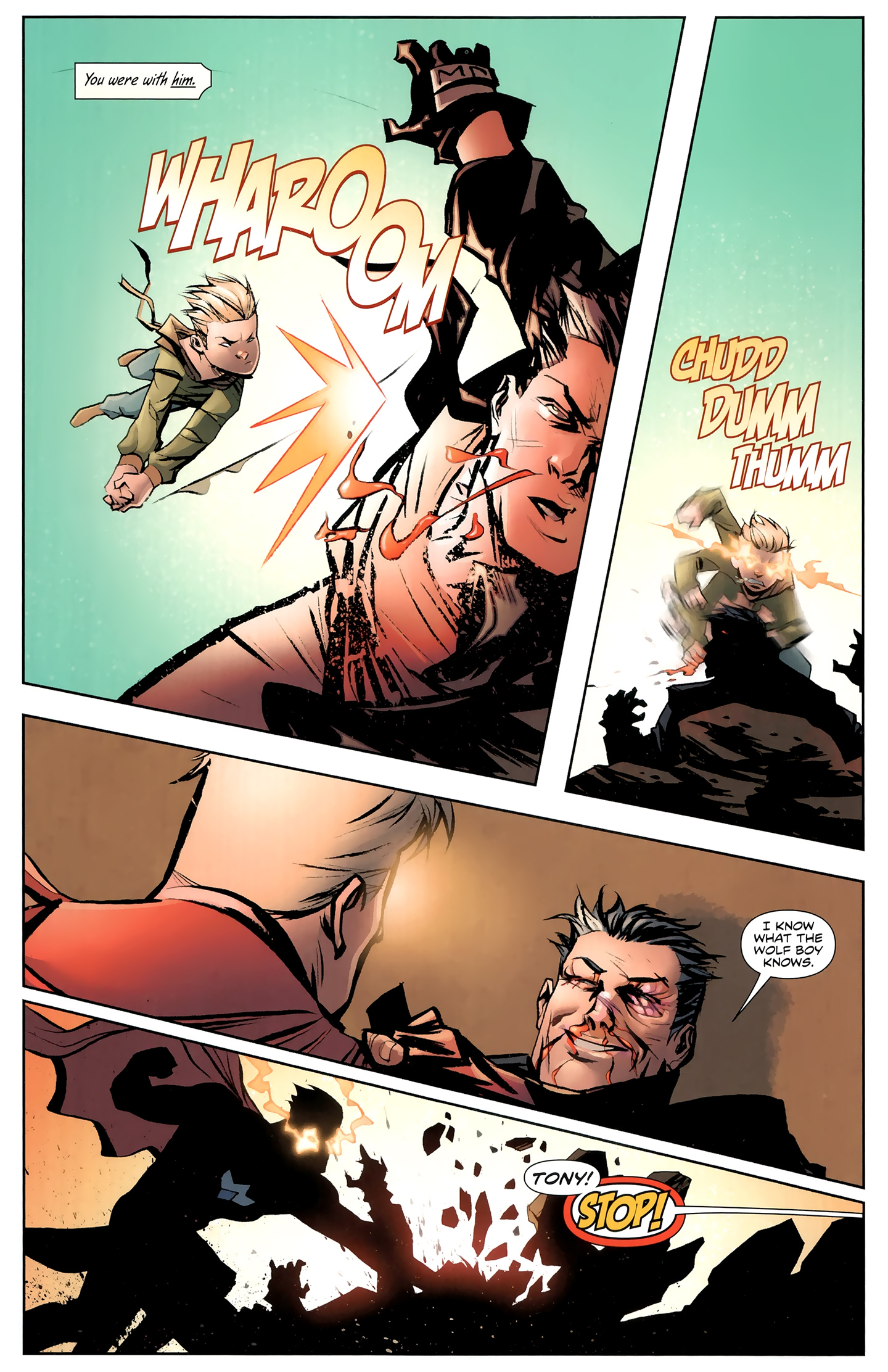 Read online Incorruptible comic -  Issue #26 - 18