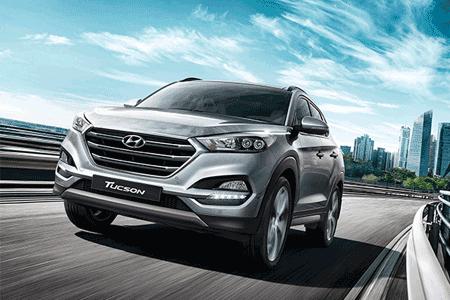 Harga Kredit Mobil Hyundai Tucson 2018