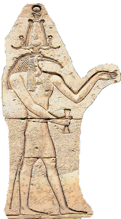 Thoth Ibis Headed Ancient Egyptian God of Writing