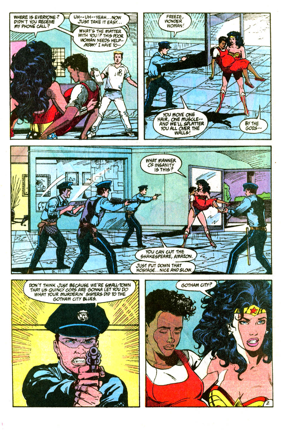 Read online Wonder Woman (1987) comic -  Issue #56 - 4