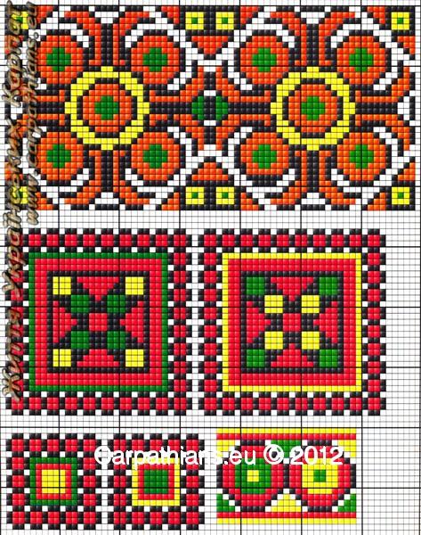 Гуцульський орнамент вишиванки №37. 60e8b095084ea