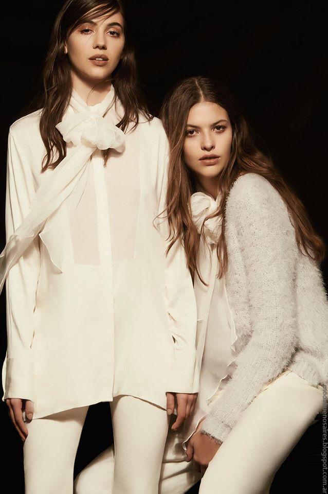 Justa Petra Looks de moda invierno 2016: Sweaters, blusas.
