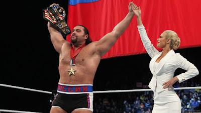 Rusev Lana WWE Titus O'Neil US Title Kalisto