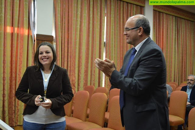 Laura Paz toma posesión como nueva consejera en el Cabildo de La Palma
