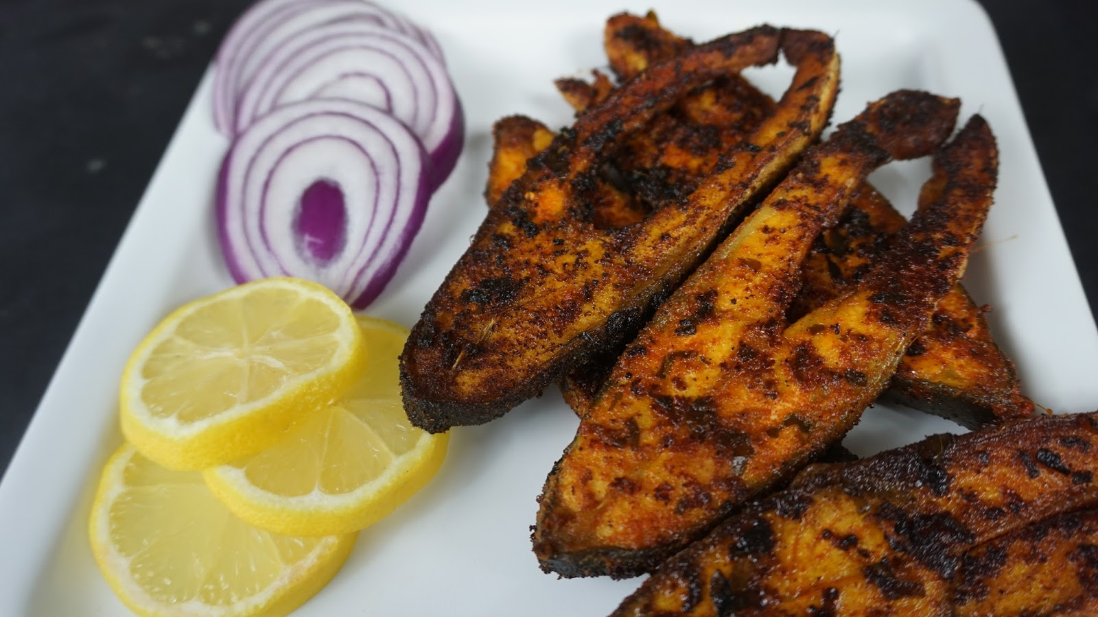 Pomfret fish fry recipe food lite for How many calories in fried fish