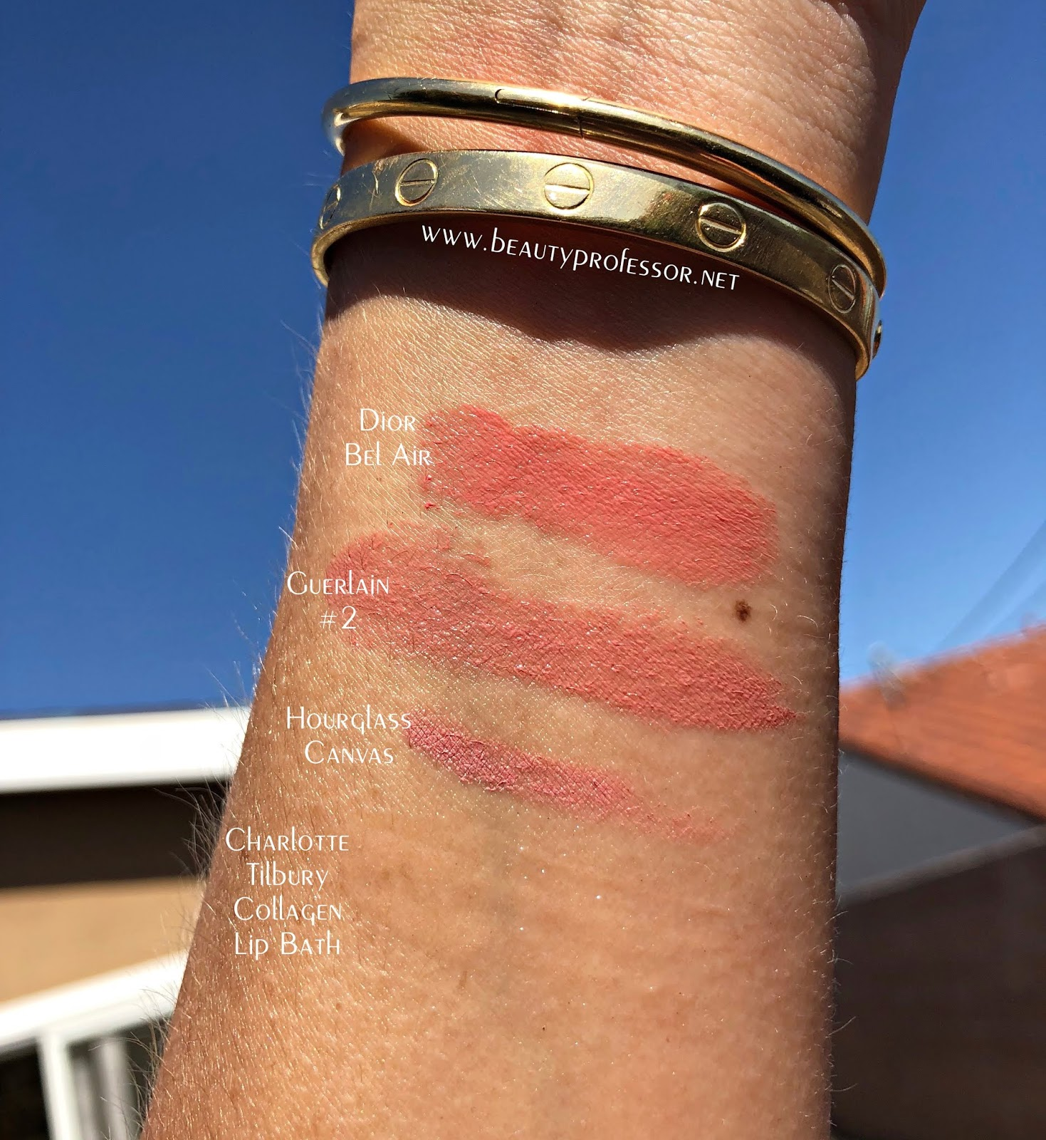 charlotte tilbury collagen lip bath swatch