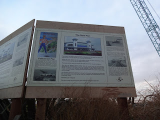 Details of the development work for the new pier at Felixstowe