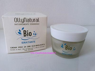 Crema viso 24 ore idratante eco-biologica