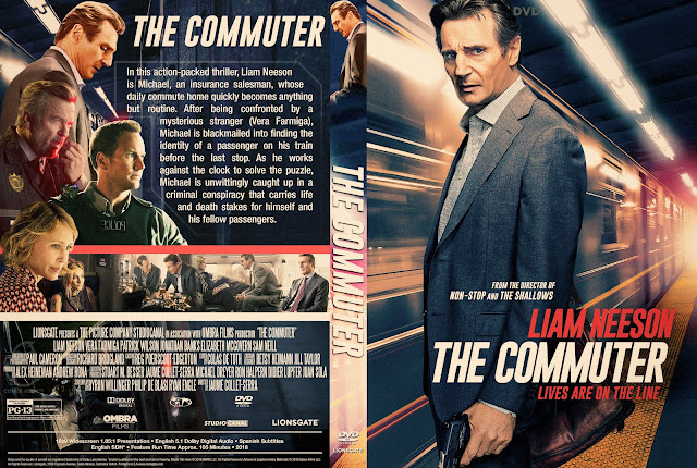 The Commuter DVD Cover