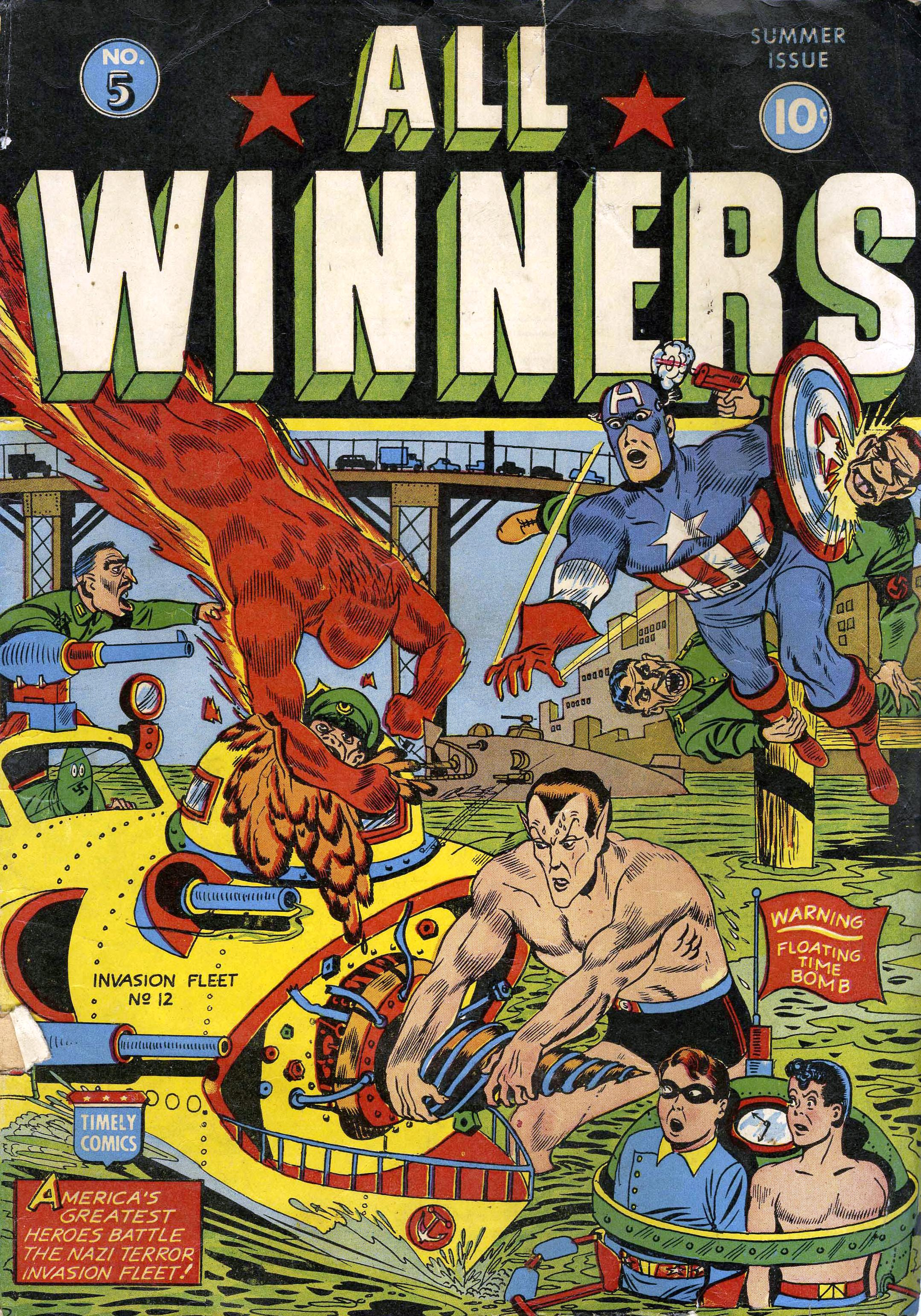 Read online All-Winners Comics comic -  Issue #5 - 1