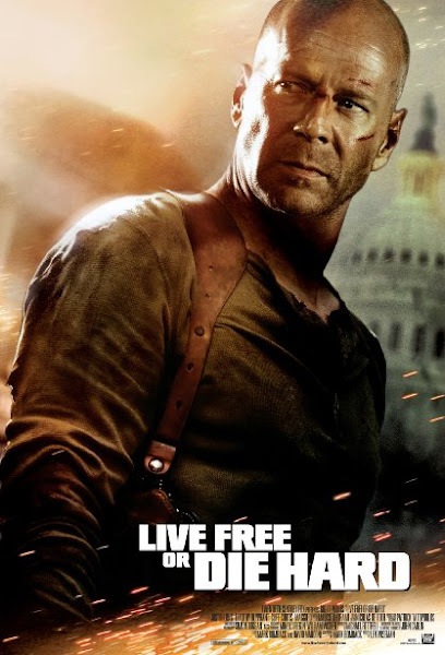 Poster Of Live Free or Die Hard 4 2007 720p Hindi BRRip Dual Audio Full Movie