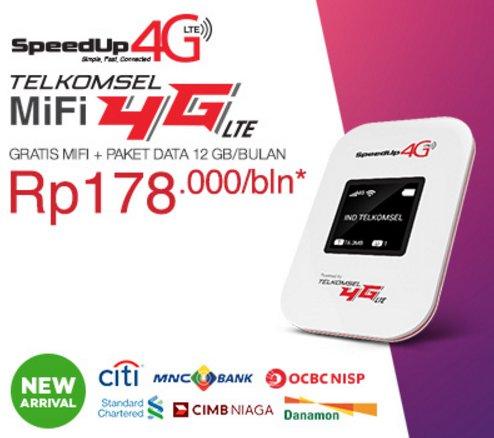 Review SpeedUp MiFi 4G Telkomsel