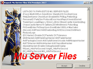 Mu Server Files 97d Premium