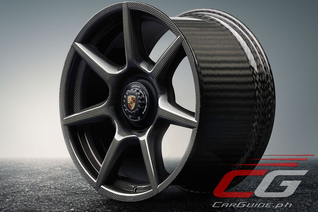 Porsche Says That Each Wheel Uses Around 18 Kilometers Of Carbon Fiber Or 8 Square Meters Fabric