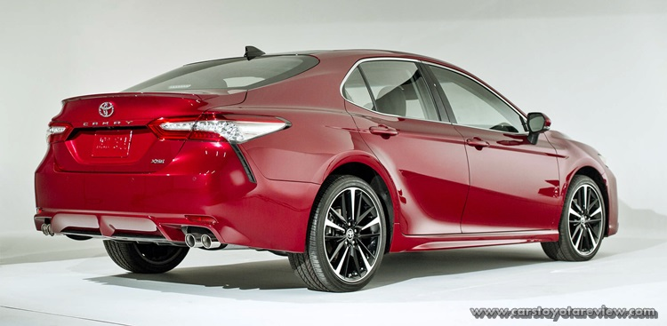 OMG, This Is The Tail Light Toyota Camry 2018