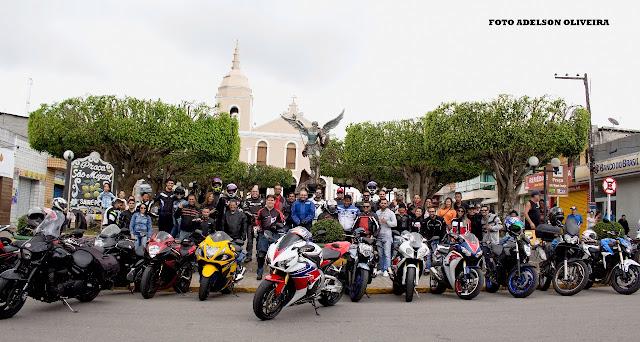 Motociclistas visitam município de Sairé