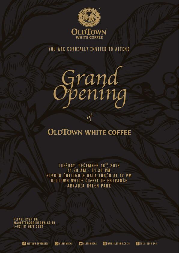Contoh Undangan Grand Opening Cafe