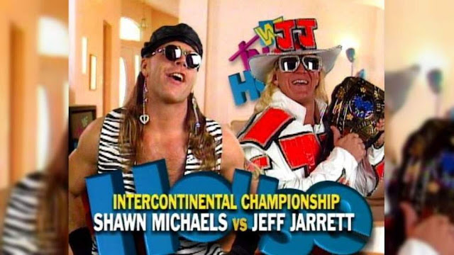 WWE - 28 Great WWF In Your House Matches - Shawn Michaels vs. Jeff Jarrett