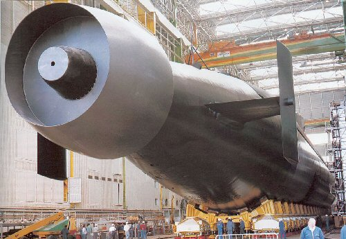 Submarine Matters: Making the pump jet lighter - likely key