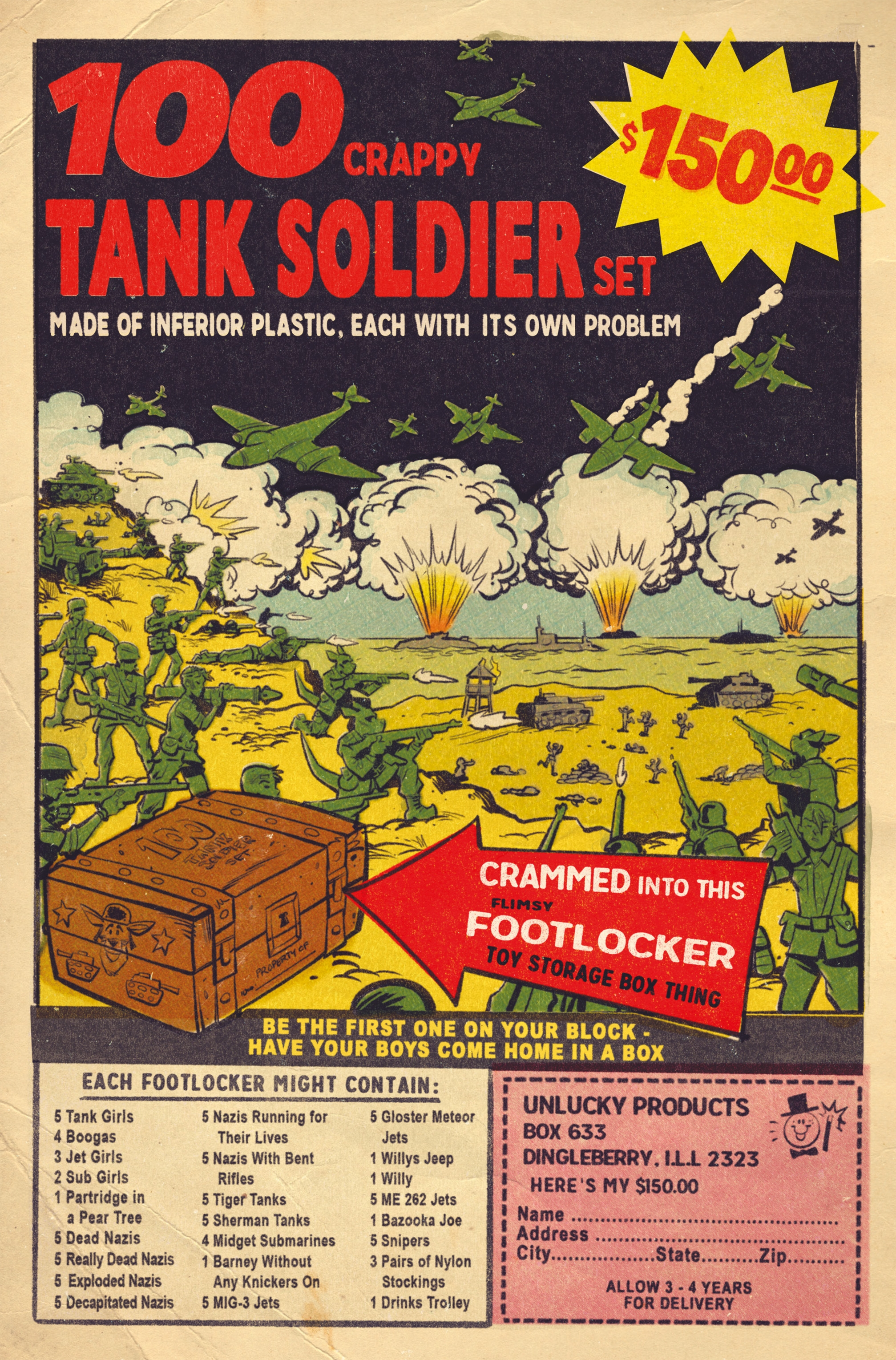 Read online Tank Girl: World War Tank Girl comic -  Issue #3 - 26