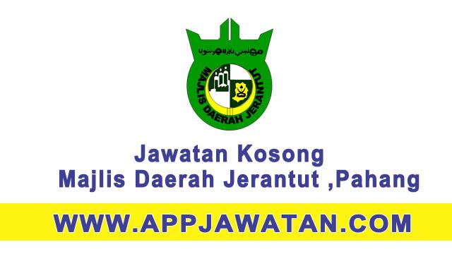 Jawatan kosong di Majlis Daerah Jerantut ,Pahang - 20 Mac 2017