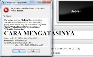 virtualbox tidak bisa dibuka