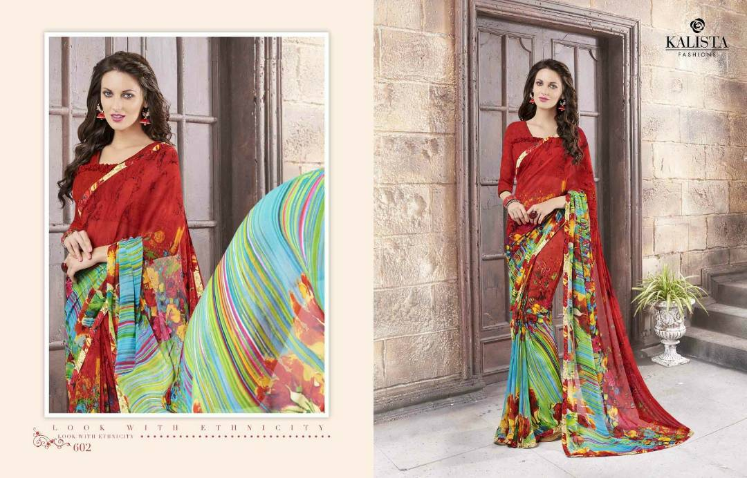 Lily – Georgette Casual Wear Printed Saree Buy Online