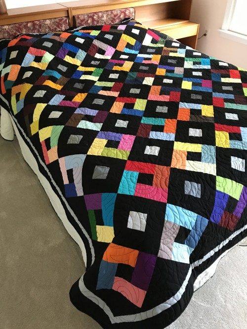 Harlequin Charm Quilt - Free Pattern