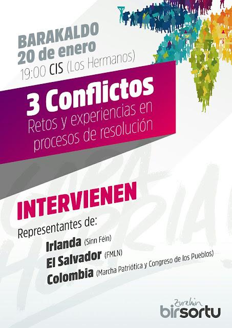 Mesa redonda sobre resolución de conflictos