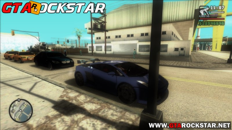 Mod Gráficos do Need for Speed: Most Wanted para GTA SA