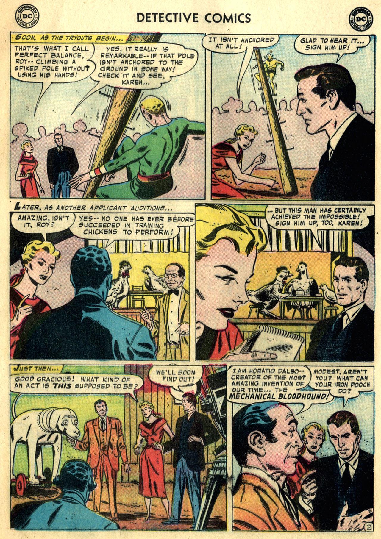 Read online Detective Comics (1937) comic -  Issue #247 - 19